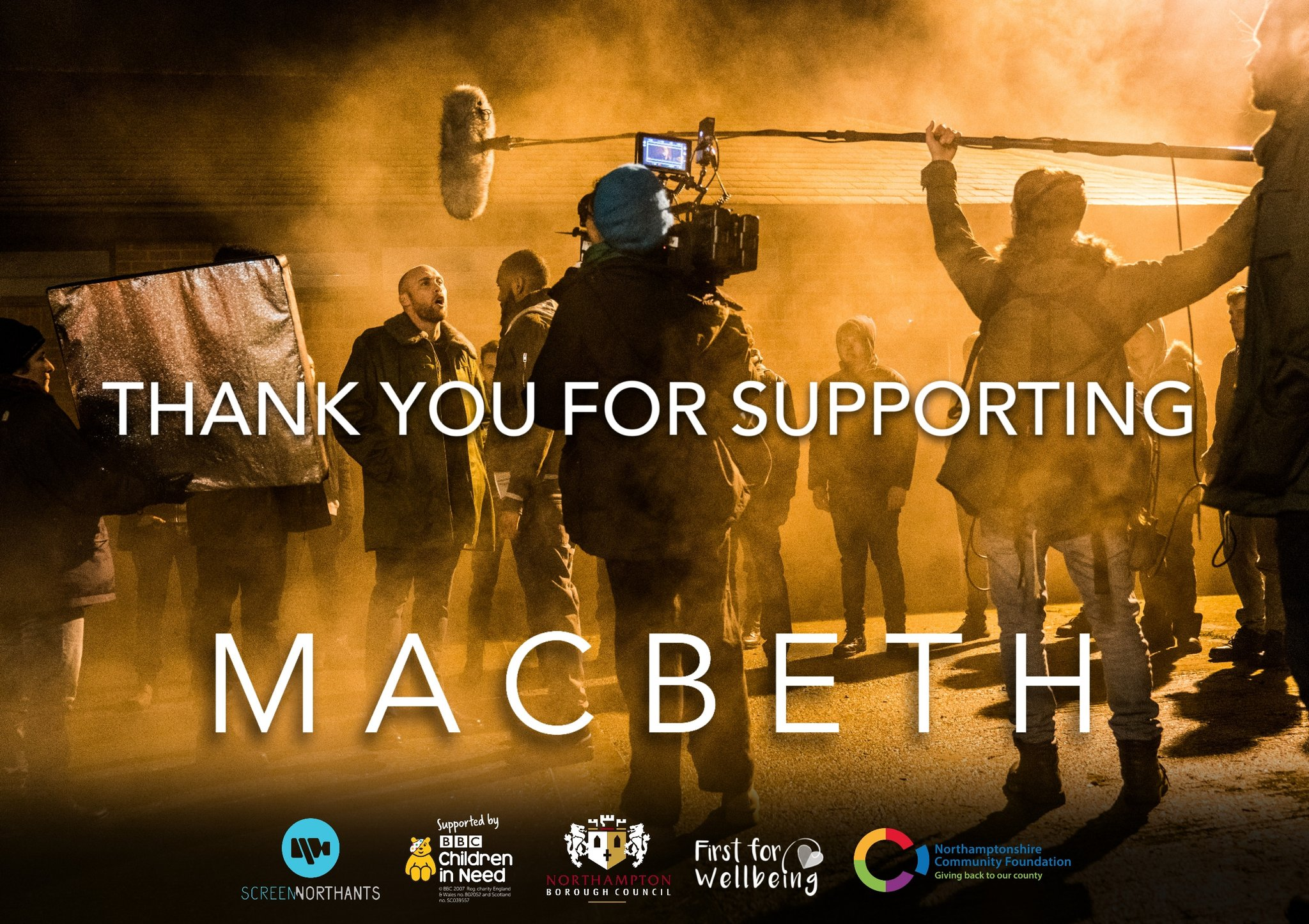 Macbeth Thank You Card